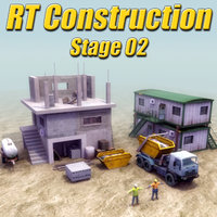 3d construction site