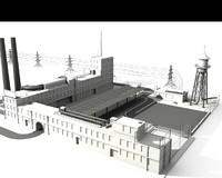 Factory and industrial elements