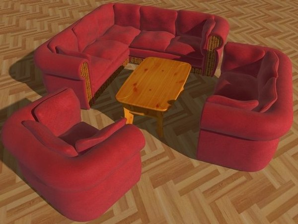 suite sofa c4d free