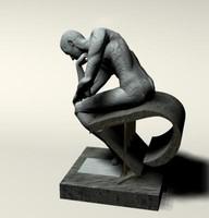 The Modern Thinker (Rodin)