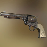 ENGRAVED COLT SINGLE ACTION 45