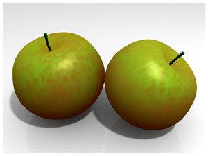 blender green apple