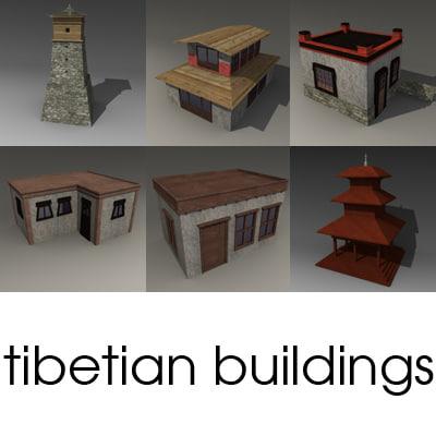 3ds nepal buildings