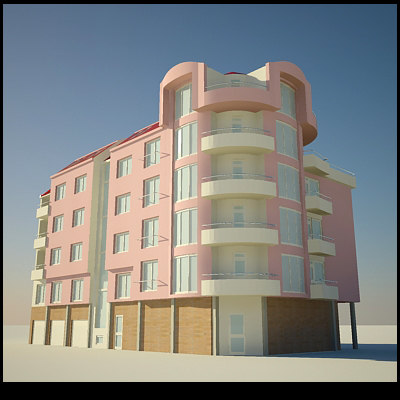 3ds max building architecture