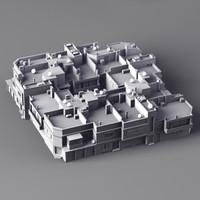 Buildings Equatorial 3