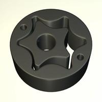 metal component 3d 3ds