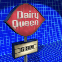 Dairy Queen Sign 01