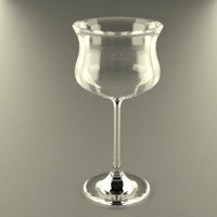 3d model of glass