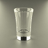 glass glassware 3d model