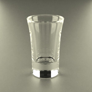 glass glassware 3d model