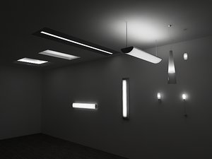 3d model designer lights