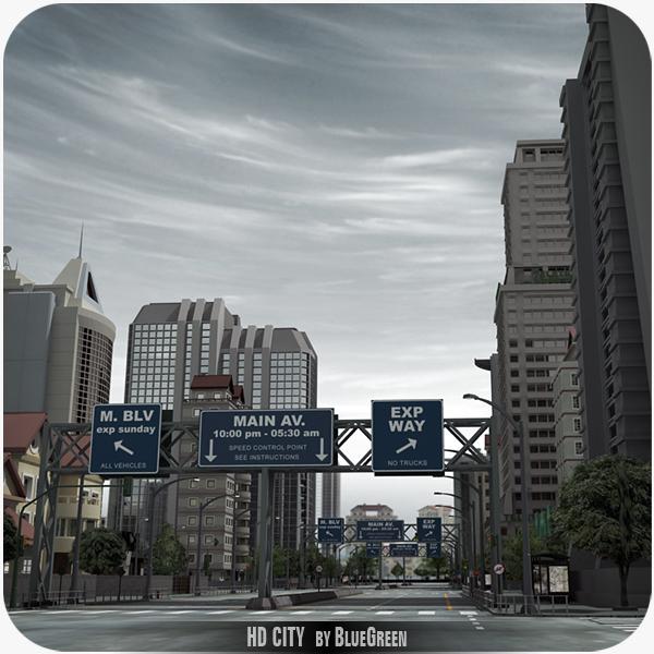 3ds definition city buildings