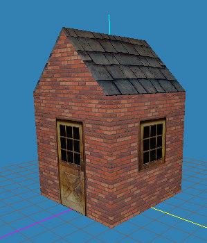 3dsmax house building