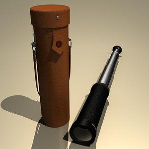 spyglass case 3d model