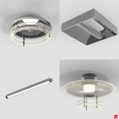 lamp ceiling 3d 3ds