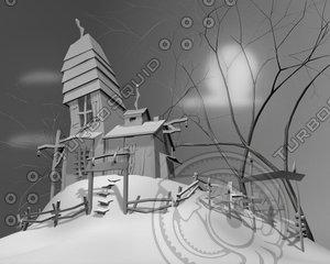 maya haunted house
