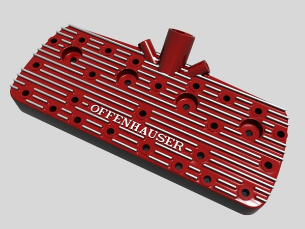 3d early offenhauser cylinder head