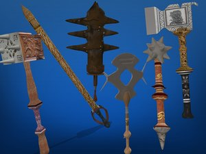 3ds max weapons pack