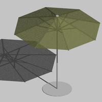 3ds max patio umbrella