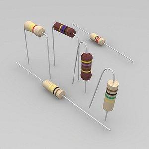 free 3ds model resistors