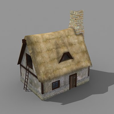 building rpg house 3d model
