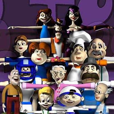 maya cartoon characters