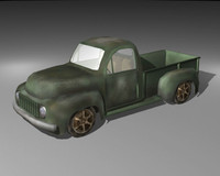 3ds max pickup truck