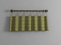 3d draperies curtain