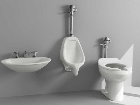 toilet uriner sink 3d max
