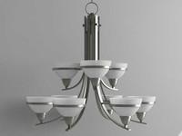 3d model chandelier