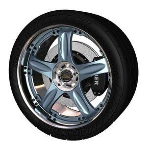 3ds max volk gtc wheel
