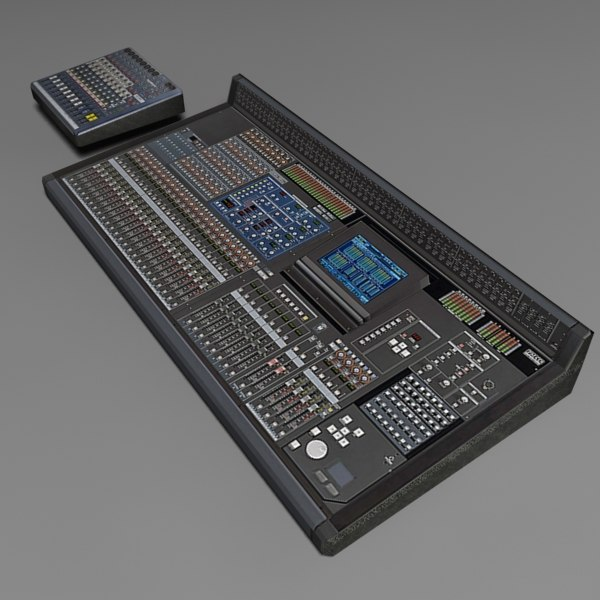 mixer electronic equipment 3d max