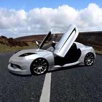 3d model custom suitark sports