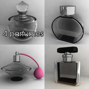 3d model parfumes