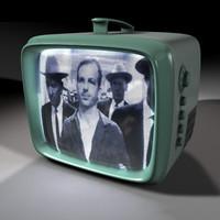 60 s portable tv 3d model
