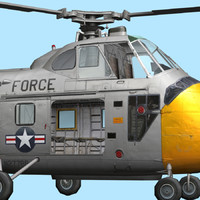 3d model air force chickasaw