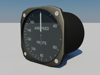 3d airspeed indicator product united