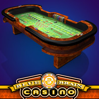 3d model craps table