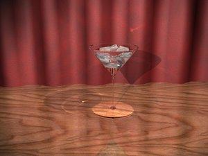 glass cherry 3d max