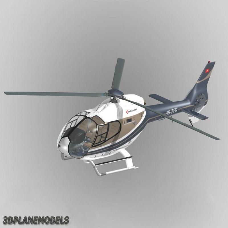 3d model eurocopter ec-120b swift copters