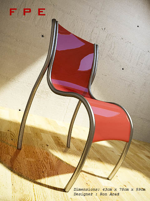 3d chair fpe model