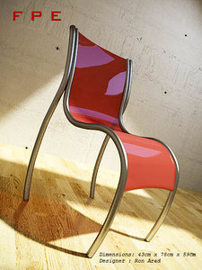 3d chair fpe model