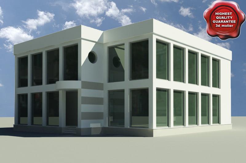 3d model house modelled