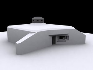 german bunker ostwall 3d 3ds
