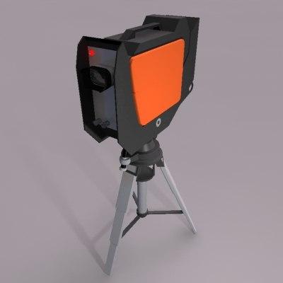 3d location video camera
