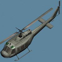 Chopper -Iroquois- Helicopter