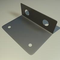 3d metal component model