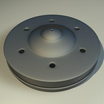 3dsmax metal component