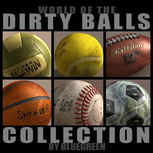 3d dirty balls model