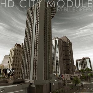 3d model definition city module